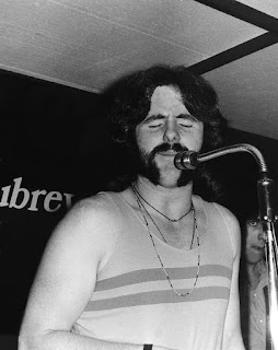 Trevor Tombleson at Aubrey's Nightclub, Christchurch, 1970