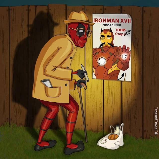 Deadpool já esta mais velho