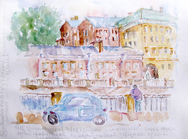 saint-petersburg-Watercolor-Sketch