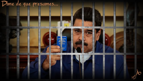 Resultado de imagen para imágenes de dictador con rejas