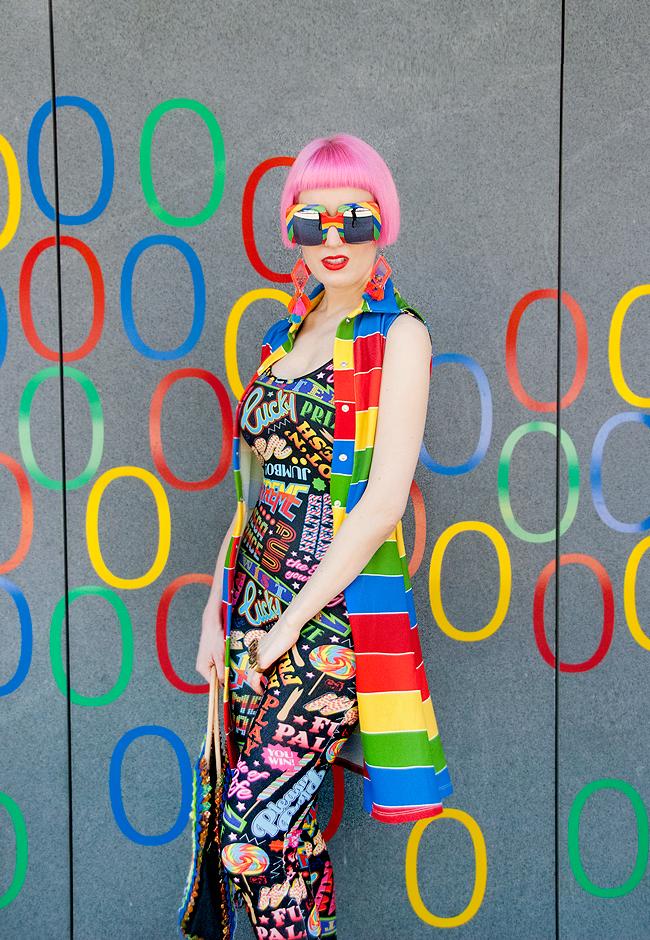 dazzle & Jolt, Agatha Ruiz de la prada, rainbow look