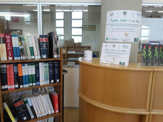 Dale valor a un libro 2017 en la Biblioteca de Derecho