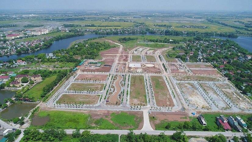 Hình ảnh thực tế dự án River Silk City - Sông Xanh Hà Nam - ducanhland
