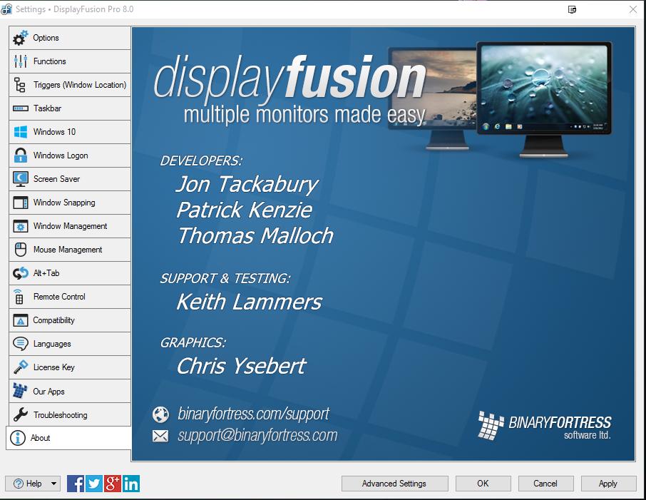 displayfusion pro key 9.1