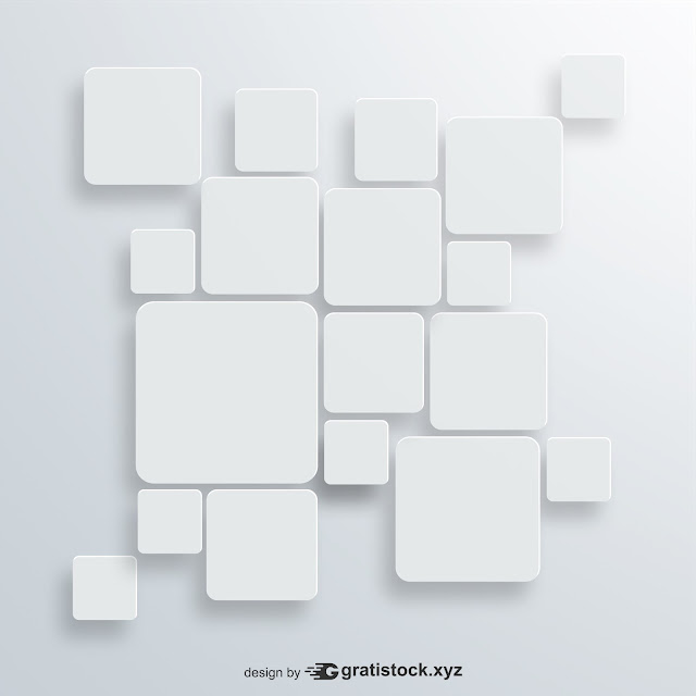 Free Download - Background With White Squares