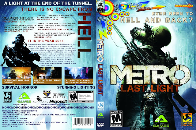 Capa Metro Last Light PC