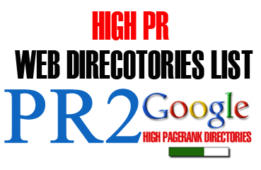 Free Top High PR2 Dofollow Directory Submission Site List