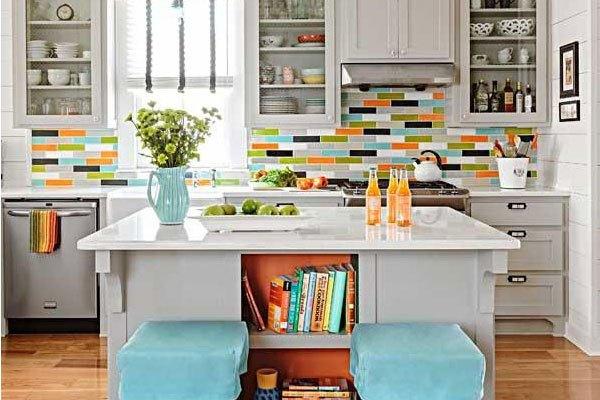 Keyifli mutfaklar için dekorasyon örnekleri