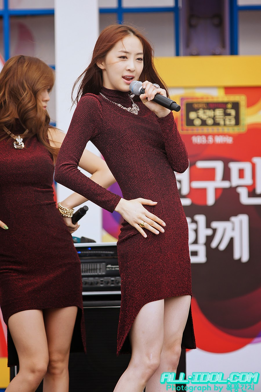 Sistar (씨스타) Dasom (다솜) - 'Beef day' to announce the superiority of Korea Dairy Cattle Association on 09 June 2012