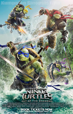 Sinopsis Film Teenage Mutant Ninja Turtles 2