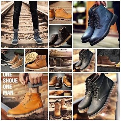รองเท้าบูทสไตล์แฟชั่นผู้ชายต้องมีสวมเท้าเท่หล่ออินเทรนด์