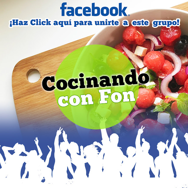 Grupo de Facebook Cocinando con Fon