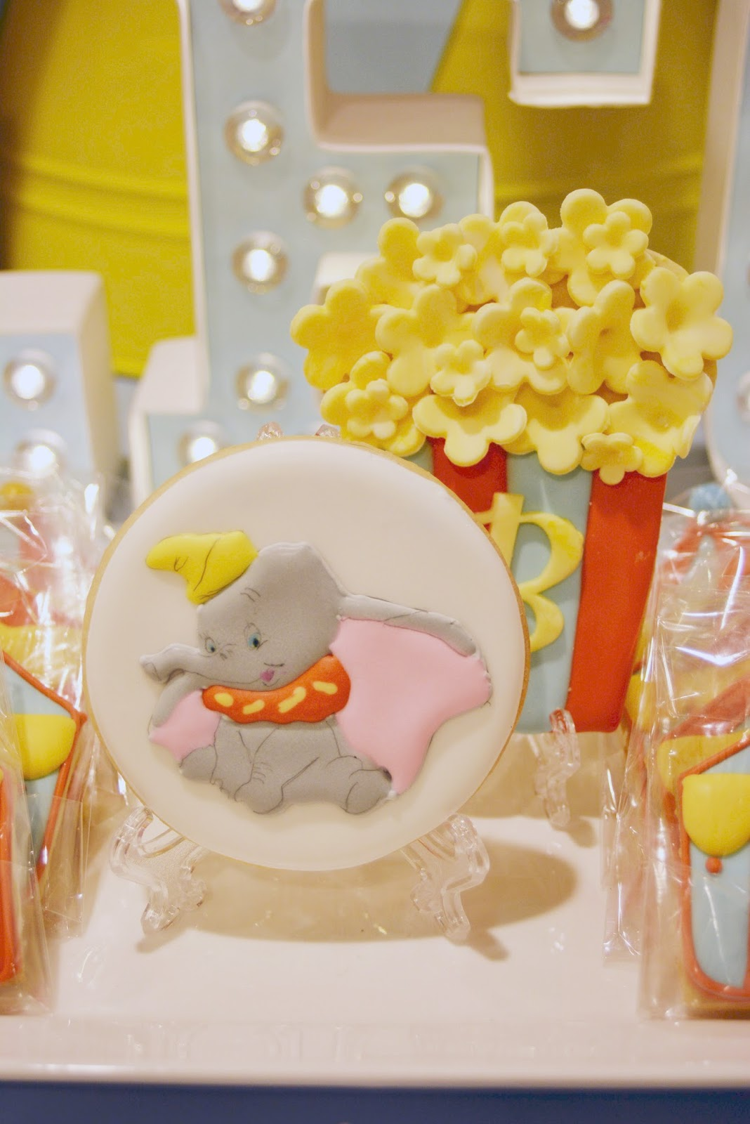 Dumbo Circus First Birthday Party