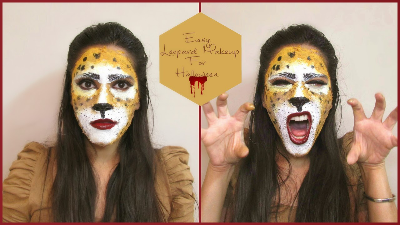 leopard, halloween, leopard makeup tutorial, last minute halloween makeup, leopard makeup tutorial fr Halloween, easy makeup for halloween,chemical free face paints, DIY, DIY face paints for halloween, face paints, facepaints for halloween, halloween, halloween face paints, home made face paints, home-remedies, Hoalloween Pumpkins, Halloween Decorations, Fall Decorations, DIY fall decorations, DIY Halloween Decorations, Halloween decorations, DIY ideas for fall, DIY ideas for halloween