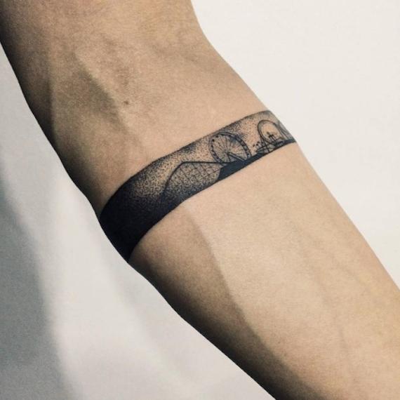 Tatuajes De Manillas En El Brazo