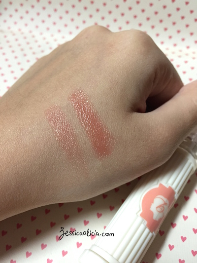 Review & Swatch : Benefit Hydra-Smooth Lip Color (Lip Service) by Jessica Alicia