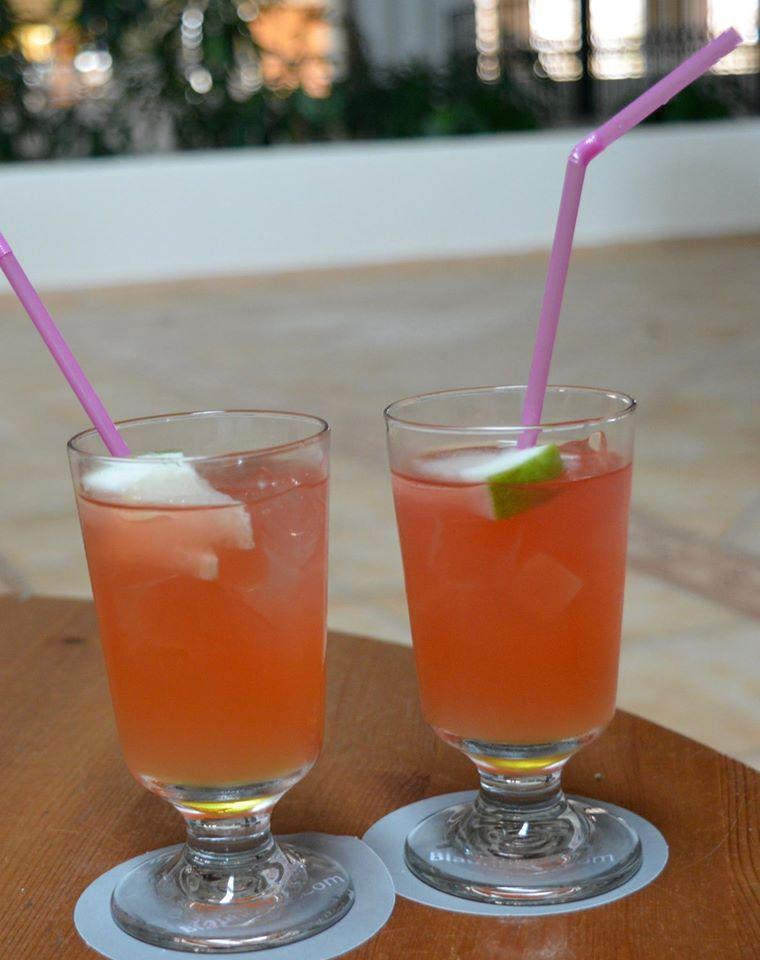 The all inclusive Cocktail menu at Blau Varadero, Cuba - sex on the beach