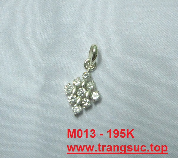 www.trangsuc.top - Mặt dây chuyền đơn giản M014  - Giá: 85,000 VNĐ - Liên hệ mua hàng: 0906846366(Mr.Giang)