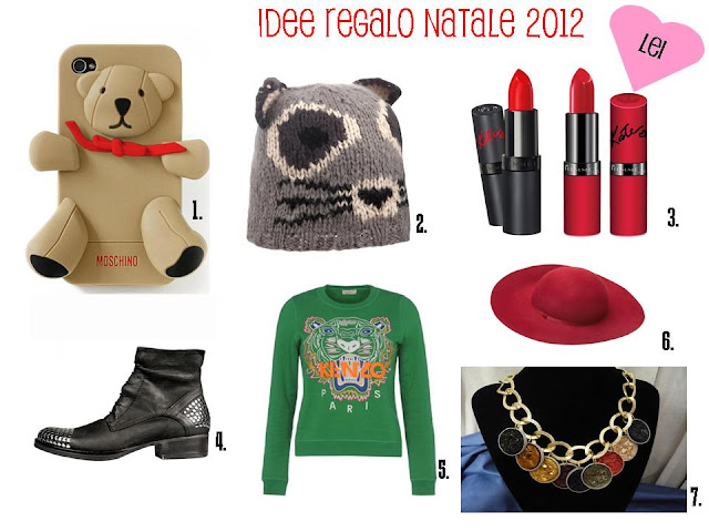 Satisfashiontheblog natale 2012 idee regalo per lei e per lui for Idee regali di natale
