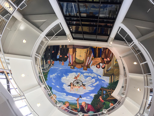 The Grohmann Museum - Ceiling Mural