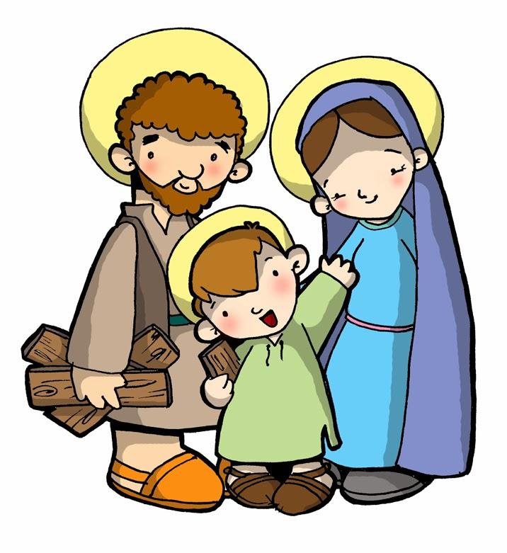 Dibujos Para Catequesis La Sagrada Familia De Jesús María Y José