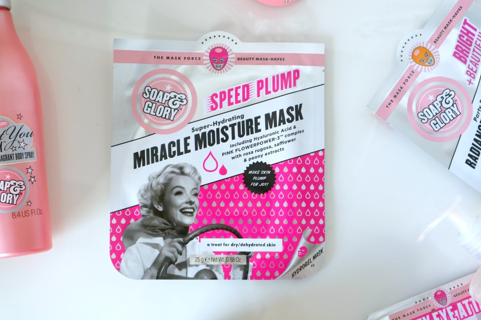Soap and Glory miracle moisture mask