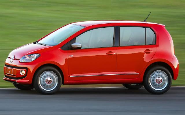 Volkswagen Up! 2017 - carro que menos desvaloriza - hatch de entrada