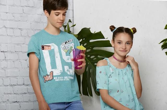 Moda primavera verano 2018 remeras y blusas de moda 2018 para nenas y nenes.