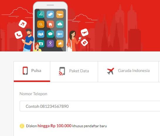 Pulsa Online Di Blanja.com Murah