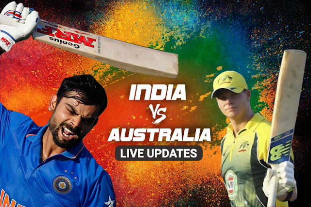 India vs Australia Live, 1st ODI Live Cricket Score, Live Streaming, Where to Watch and TV Timings IST