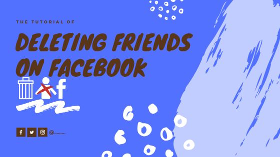 How To Delete A Friend On Facebook<br/>