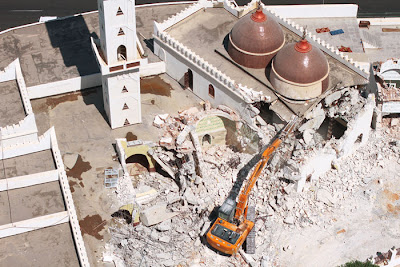 Religious  tensions are reaching record levels in  Libya, with two Sufi religious sites attacked and destroyed in just two days by Salafi activists.
