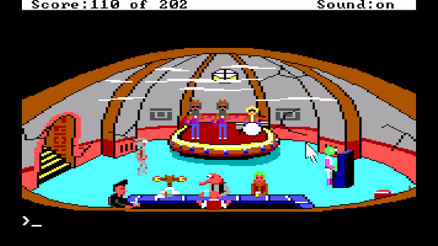 Screenshot from Space Quest I