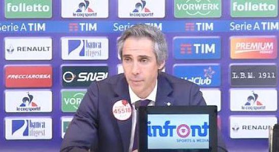 """SOUSA in conferenza dopo Fiorentina Sassuolo 2-1: """"Stiamo trovando continuità. Per me tutti i miei sono i migliori, devo solo sceglierne undici. Ci aiuta a vincere"""" VIDEO"""