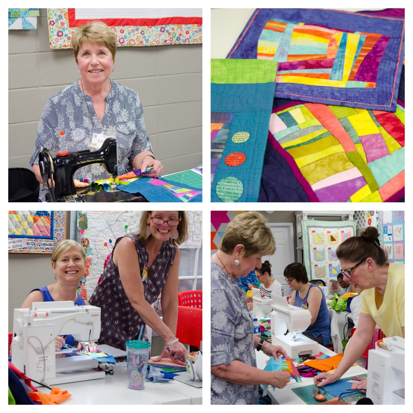 Greenville Modern Quilt Guild Highlights From The May 2018 Meeting