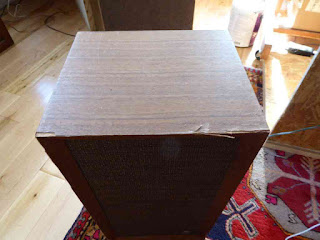 Pair Of Vintage Air-Suspension Speakers - Made In Japan