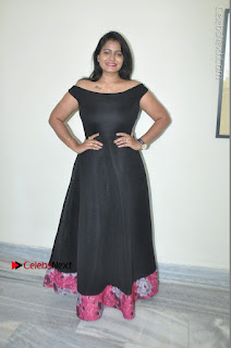 Telugu Actress Swathi Reddy Latest Stills in Black Gown  0087.JPG