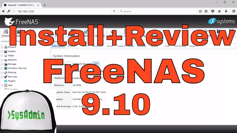 How to Install and Configure FreeNAS 9 10 Storage on VMware Tutorial