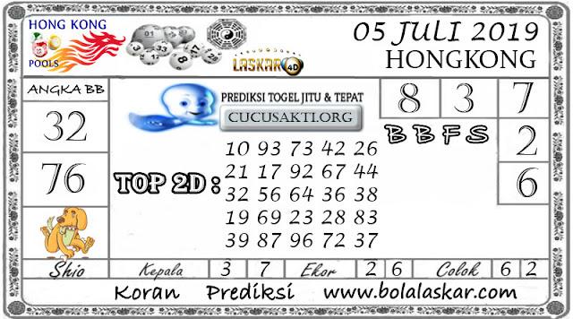 Prediksi Togel HONGKONG LASKAR4D 05 JULI 2019