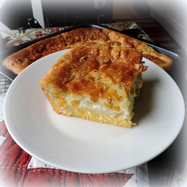 Custard Filled Corn Bread