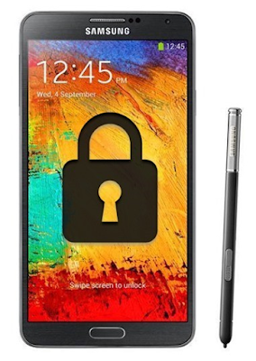 Unlock galaxy note 3