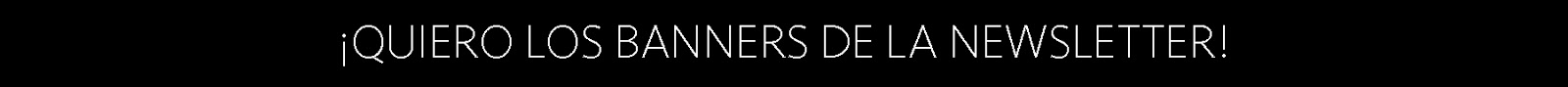 40 banners para tu Newsletter gratuitos