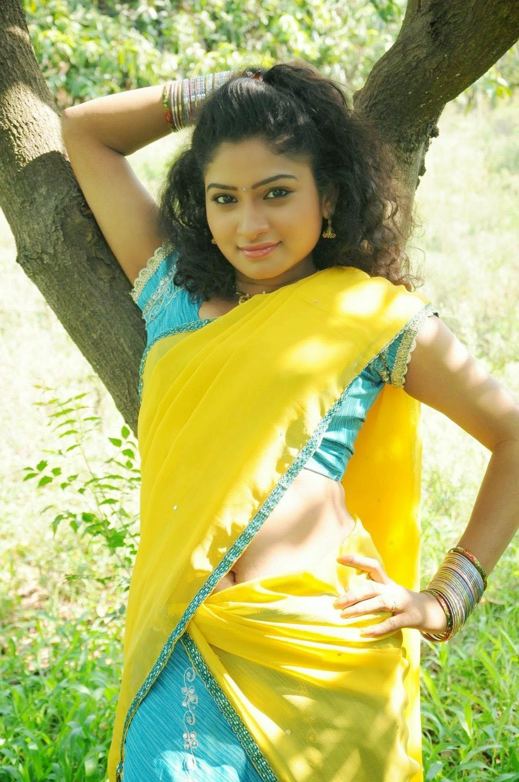 Telugu Actress Vishnu Priya Navel - Cute And Hot-2180