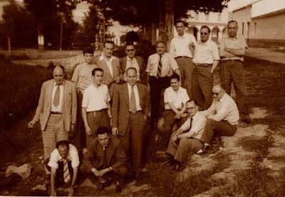 Nacimiento del Río Jalón, 29 de junio de 1956