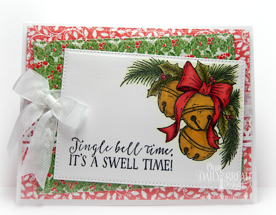 Our Daily Bread Design Stamp Set: Jingle Bell Time, Our Daily Bread Designs Custom Dies; Pierced Rectangles, Beautiful Borders, Our Daily Bread Designs Paper Collection: Holly Jolly