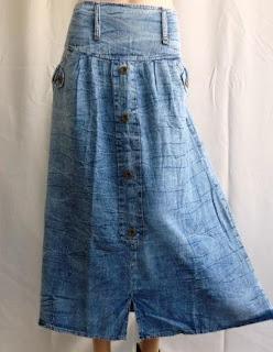 Rok Jeans Snowwashed RM335