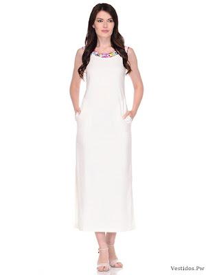 vestido blanco fiesta