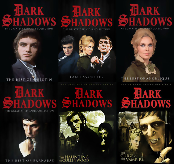 dark shadows full dvd set