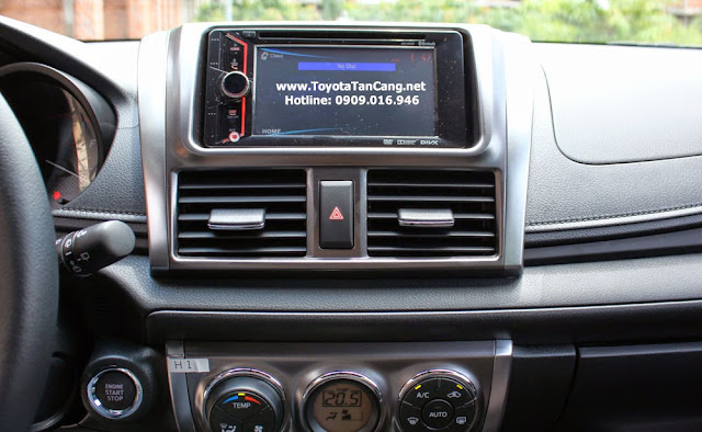 toyota yaris 2014 9 6276 - So sánh Ford Fiesta và Toyota Yaris : Ai là Vua xe Hatchback cỡ nhỏ - Muaxegiatot.vn
