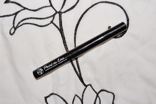 Your Average Jo: Review: W7 Paint the Line liquid eyeliner